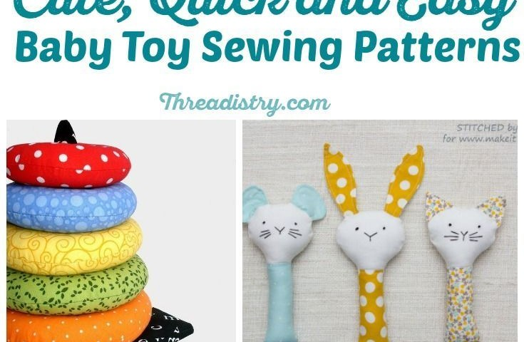 Sewing Patterns For Baby Toys Cute And Quick Easy Ba Toy Sewing Patterns Sewing Pinterest