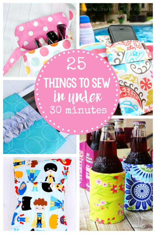 Sewing Patterns For Beginners Easy Sewing Patterns 25 Things To Sew In Under 30 Minutes
