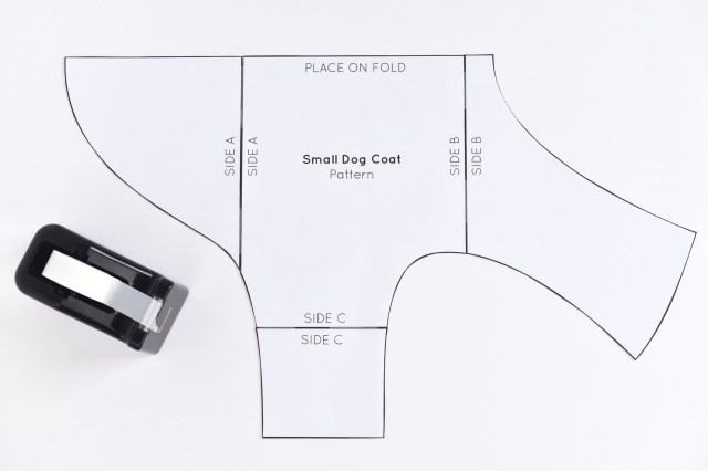 Sewing Patterns For Dogs Free Sewing Pattern For A Warm Weatherproof Dog Coat