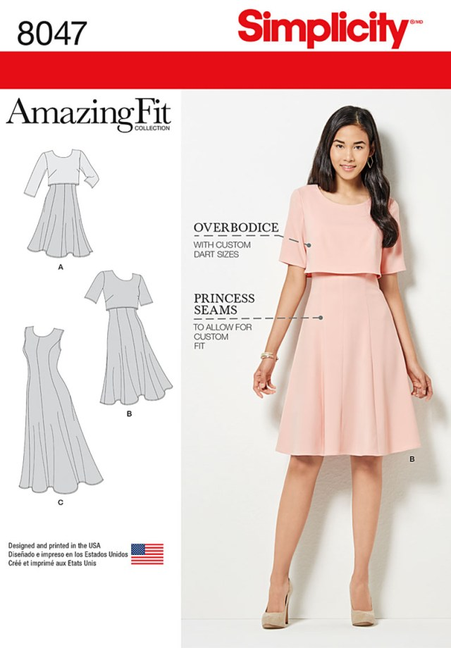 Sewing Patterns For Dresses Simplicity 8047 Dress Sewing Pattern