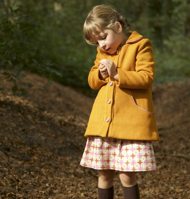 Sewing Patterns For Kids The Louisa Coat Pdf Sewing Pattern For Kids Compagnie M