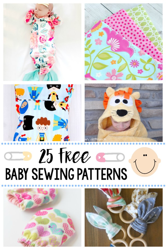 Sewing Patterns Free 25 Things To Sew For Ba