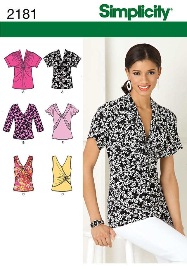 Sewing Patterns Simplicity Blouse Top Tunic Sewing Pattern Simplicity Choose Plus 4 24 Things