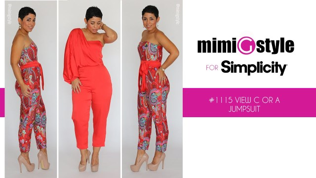 Sewing Patterns Simplicity How To Sew The Mimi G Style For Simplicity Pattern 1115 Tutorial