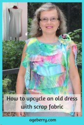 Sewing Projects Upcycled How To Upcycle An Old Dress Refashioned Upcycled Altered