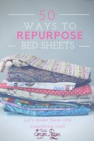 Sewing Projects Upcycled Repurposing Old Bed Sheets 50 Things You Need To Know Upcycle