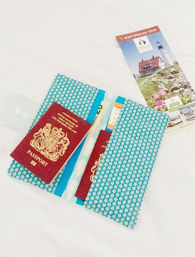 Sewing Wallet Pattern Free Free Family Passport Wallet Sewing Pattern Rebecca Page
