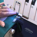 Sewing With A Serger How To Sew Make A Knit Dress With A Serger Machine Youtube