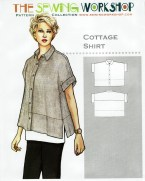 Shirt Sewing Pattern Cottage Shirt Sewing Pattern From The Sewing Workshop