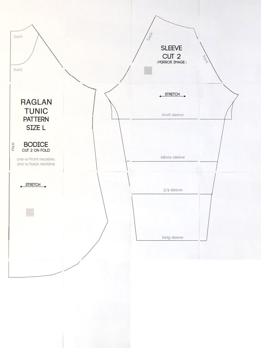 Shirt Sewing Pattern Long Raglan T Shirt Sewing Pattern Its Always Autumn