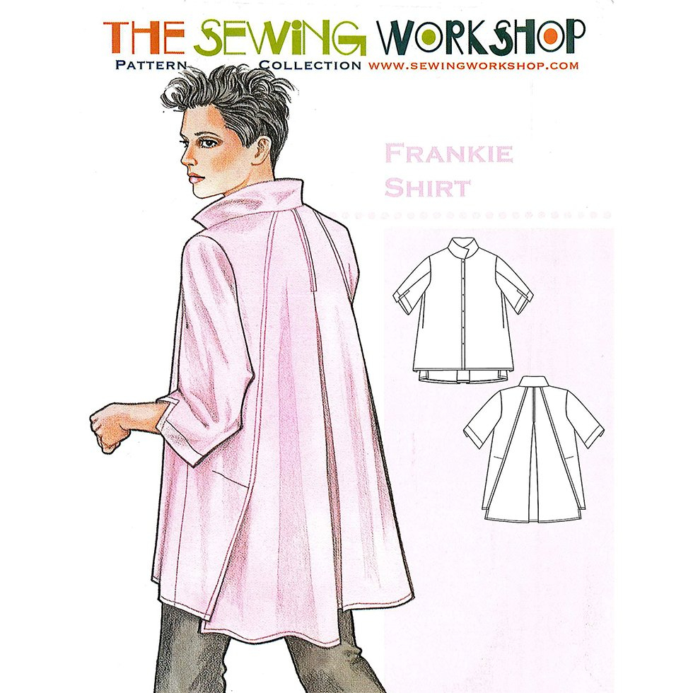 Shirt Sewing Pattern Sewing Workshop Frankie Shirt Sewing Pattern Dressmaking Patterns