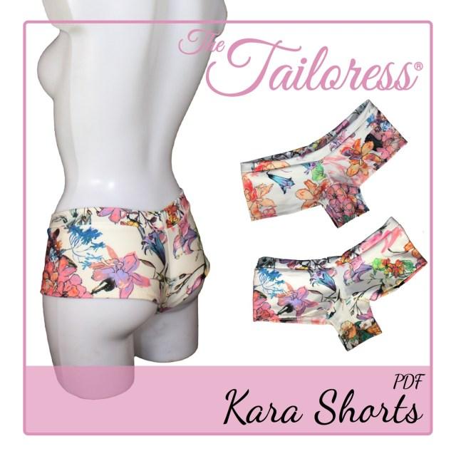 Shorts Sewing Pattern Kara Bikini Badeanzug Hot Pants Boy Shorts Pdf Schnittmuster Die