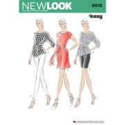 Shorts Sewing Pattern Womens Dress Or Top And Trousers Or Shorts New Look Sewing Pattern