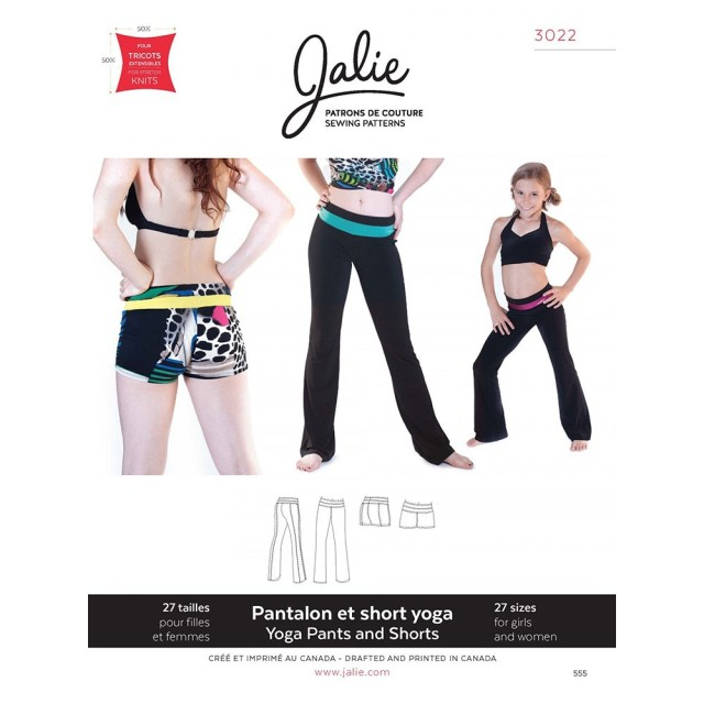 Shorts Sewing Pattern Yoga Pants And Shorts Jalie Sewing Pattern 3022 Sew Essential