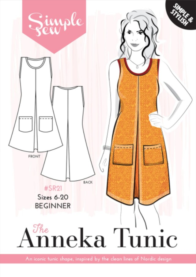 Simple Sewing Patterns Anneka Tunic The Foldline