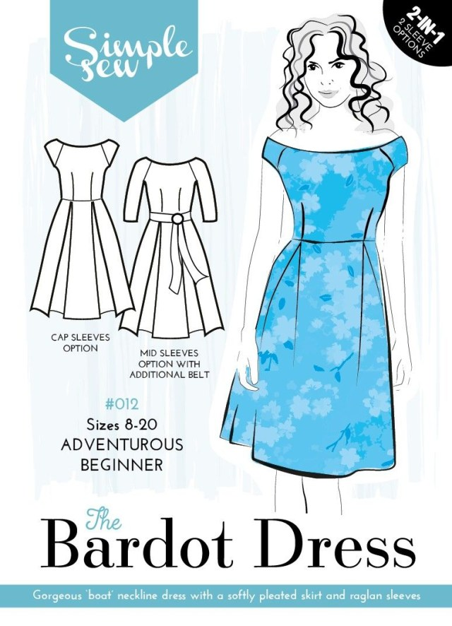 Simple Sewing Patterns The Bardot Dress Sew Sew Pinterest Sewing Sewing Patterns And