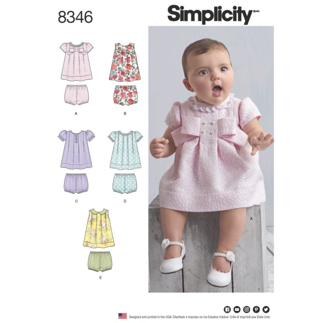 Simplicity Sewing Patterns Simplicity Sewing Pattern 8346 A Ba Dress Pants