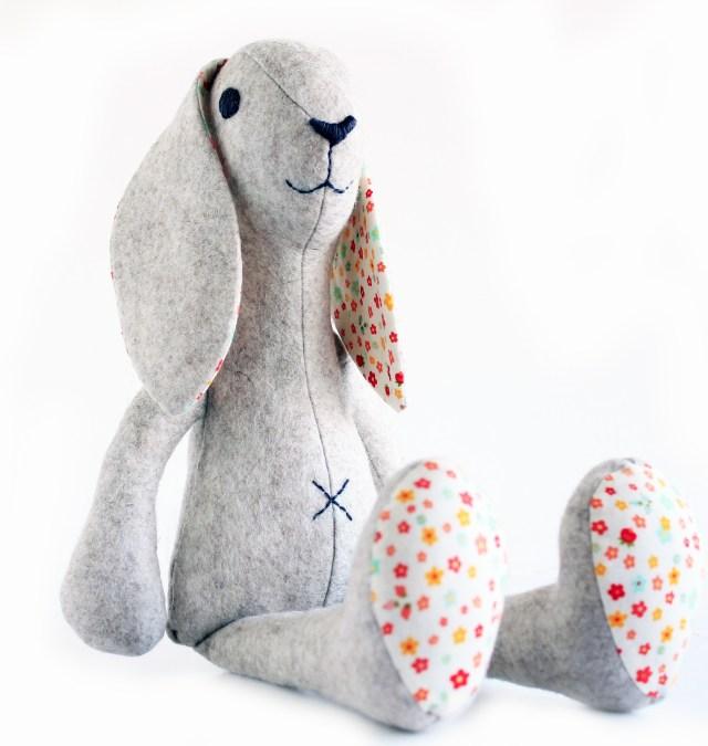 Stuffed Animal Sewing Patterns Bunny Rabbit Sewing Pattern Stuffed Toy Sewing Pattern