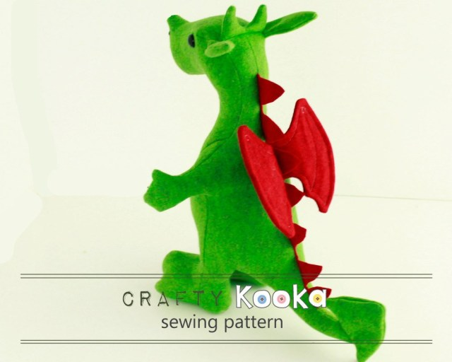 Stuffed Animal Sewing Patterns Stuffed Animal Sewing Pattern Dragon Plush Sewing Pattern Dragon
