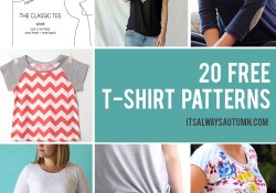 Sweater Sewing Pattern Free 20 Free T Shirt Patterns You Can Print Sew At Home Its Always