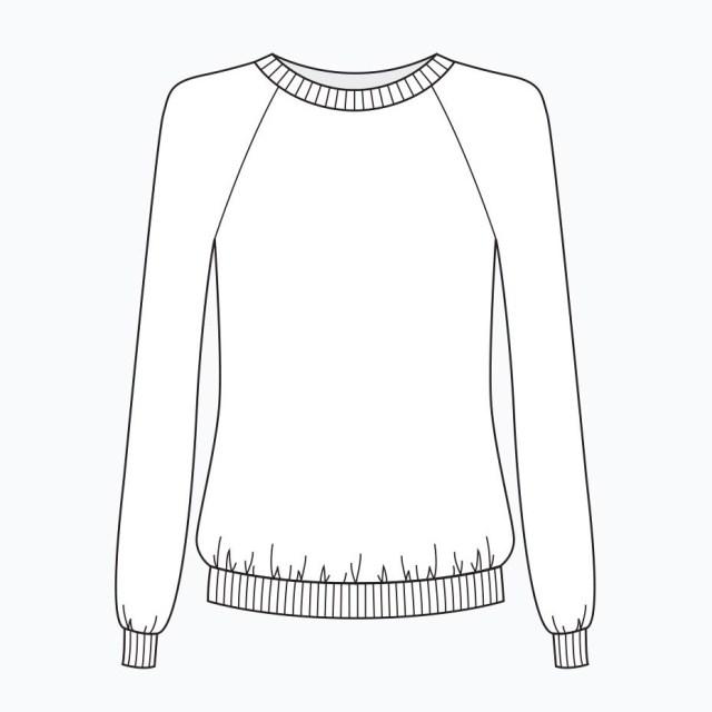 Sweatshirt Sewing Pattern Grainline Studio Linden Sweatshirt Sewing Pattern Dressmaking