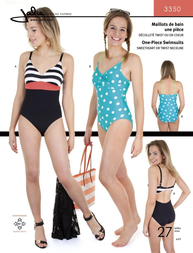 Swimsuit Sewing Patterns The Fabric Fairy One Piece Swimsuits Sewing Pattern Jalie