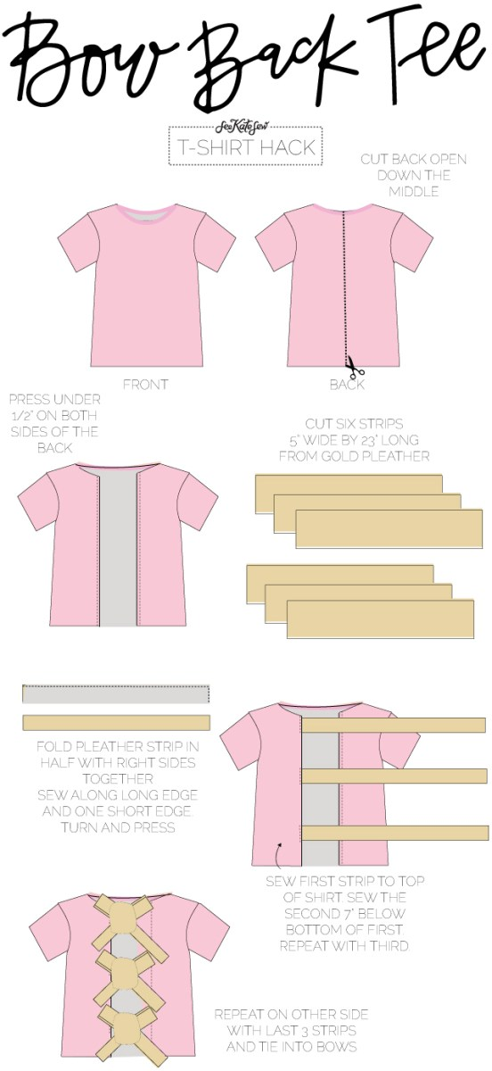 T Shirt Sewing Pattern 10 Ways To Refashion A T Shirt See Kate Sew