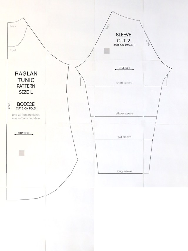 T Shirt Sewing Pattern Long Raglan T Shirt Sewing Pattern Its Always Autumn