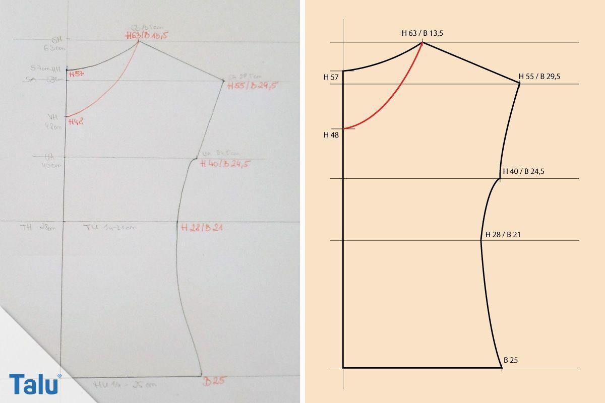 T Shirt Sewing Pattern T Shirt Selber Nhen Anleitung Kostenloses Schnittmuster Nhen