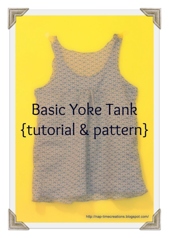 Tank Top Sewing Pattern Free Tank Top Pattern Life Sew Savory