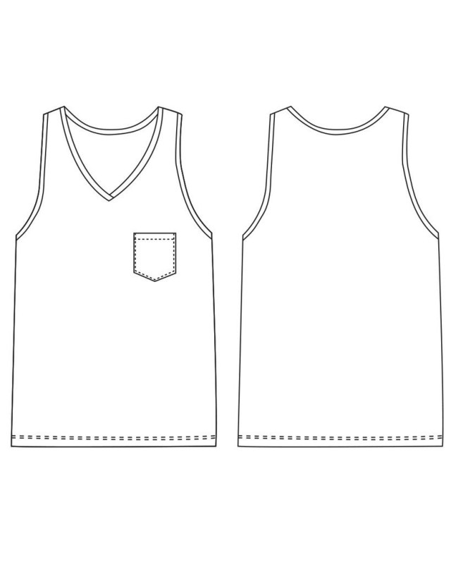 Tank Top Sewing Pattern Pin Nea Starck On Patterns Pinterest Sewing Patterns Sewing