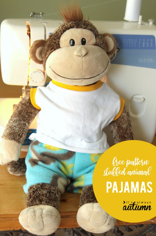 Teddy Bear Sewing Pattern Easy Free Sewing Pattern For Teddy Bear Pajamas Its Always Autumn
