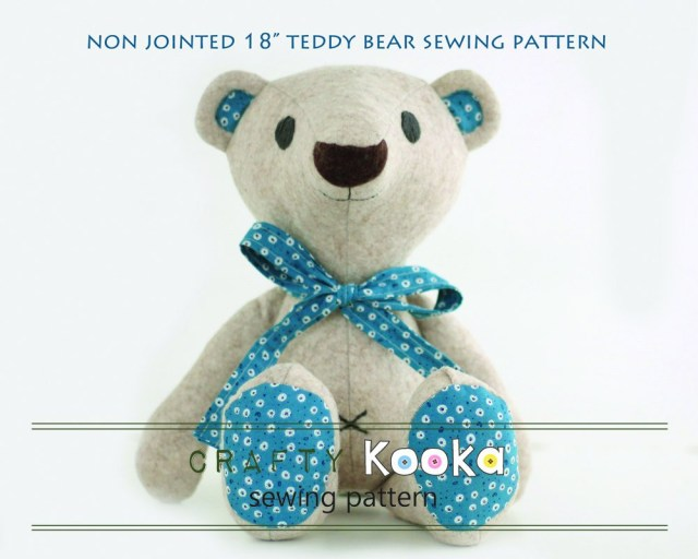 Teddy Bear Sewing Pattern Teddy Bear Pdf Pattern Tutorial For Instant Download