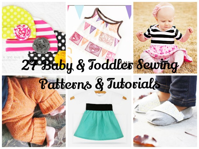Toddler Sewing Patterns 27 Ba And Toddler Sewing Patterns Tutorialsdomestic360