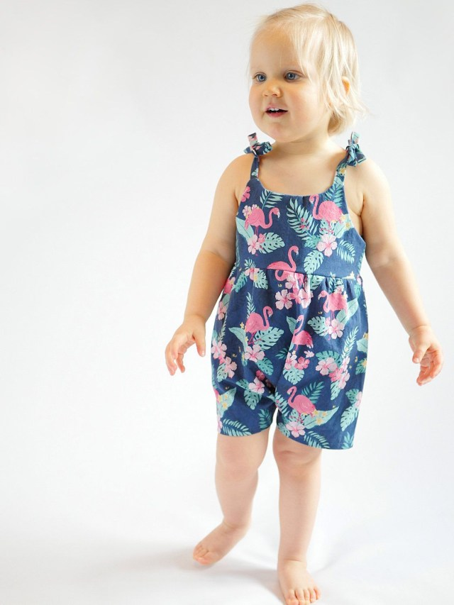 Toddler Sewing Patterns Easy To Sew Playsuit Sewing Pattern For Ba And Toddler Girl With