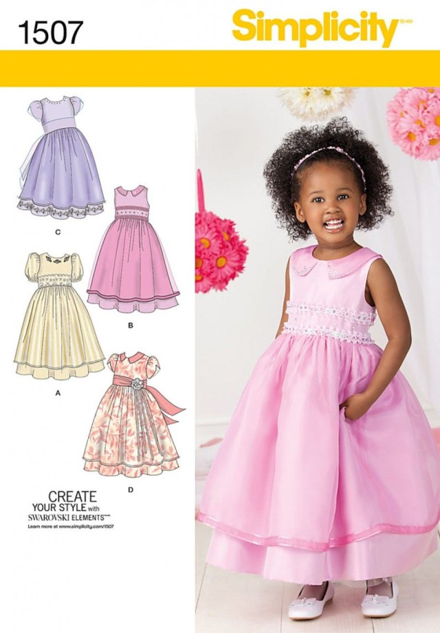 Toddler Sewing Patterns Toddlers And Childs Special Occasion Dress Gyerek Ruha