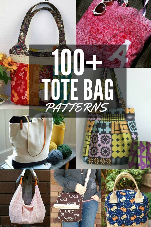 Tote Bag Sewing Pattern 100 Free Tote Bag Patterns Round Up The Sewing Loft
