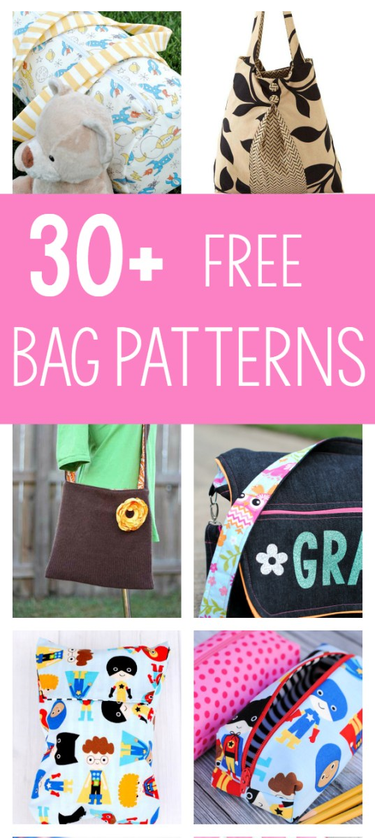 Tote Bag Sewing Pattern 25 Bag Sewing Patterns