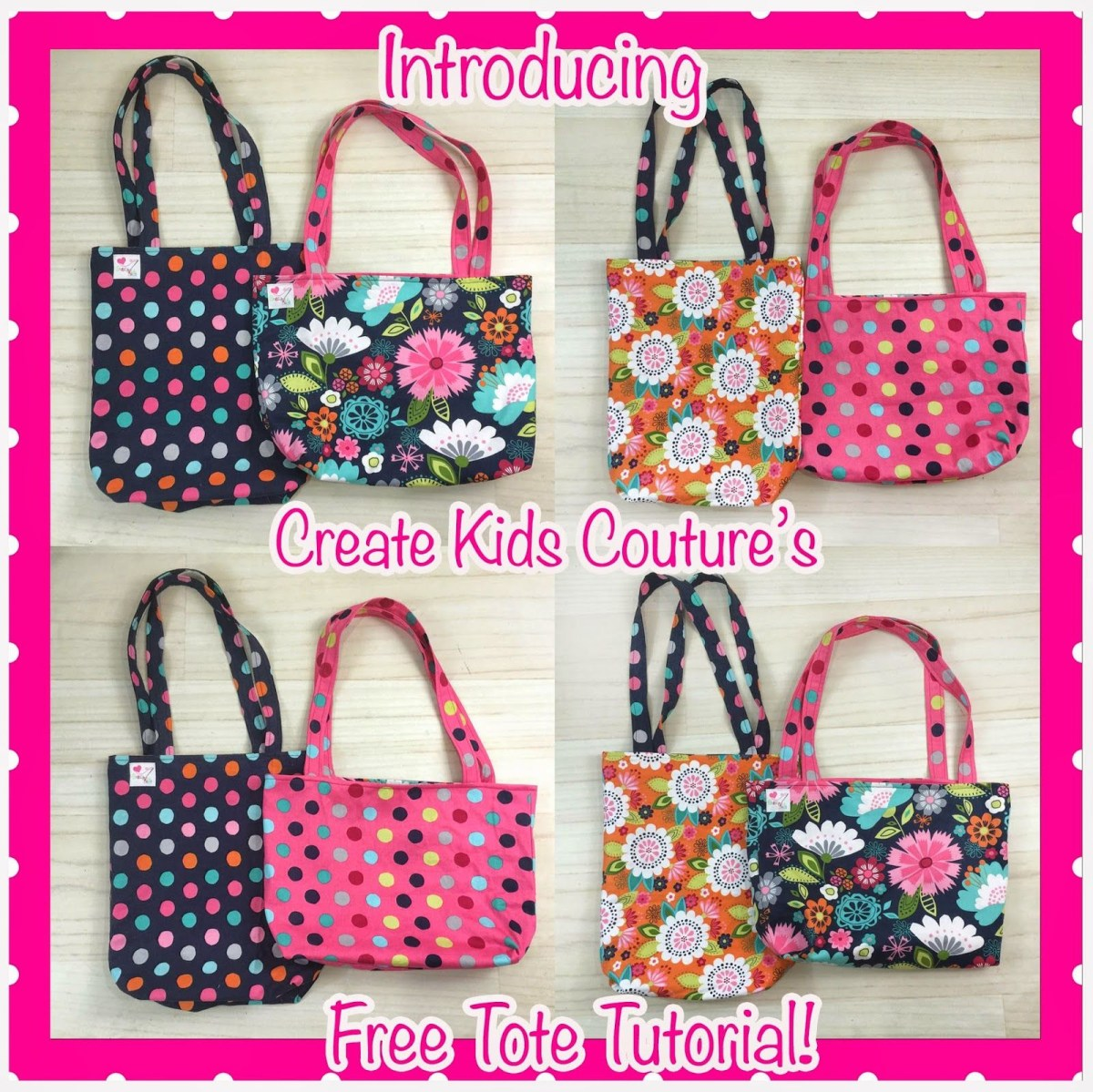 Tote Bag Sewing Pattern Free Tote Bag Tutorial Easy To Sew Free Patterns On The Ckc Blog
