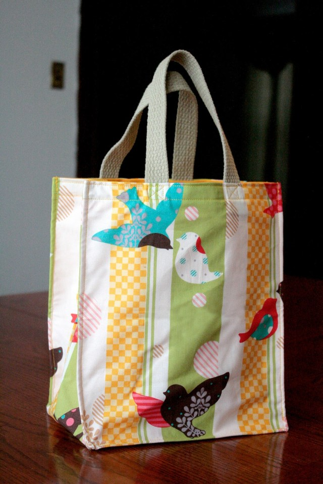 Tote Bag Sewing Pattern Tutorial Totes Big And Small Craft Buds