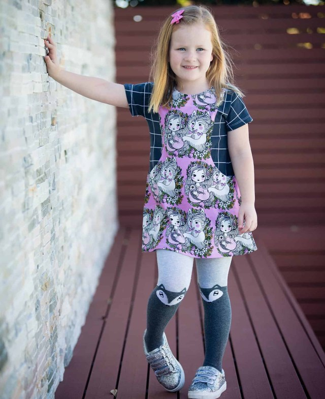Trendy Sewing Patterns Girls Tunic Pdf Sewing Pattern Love Notions