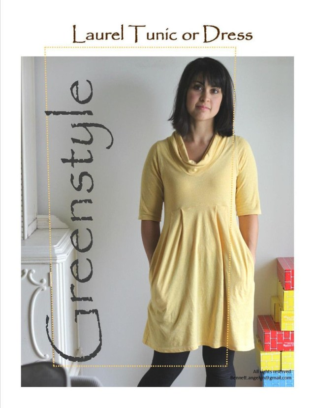 Tunic Sewing Patterns Laurel Dress Or Tunic Pdf Sewing Pattern In Sizes Xxs To 3xl