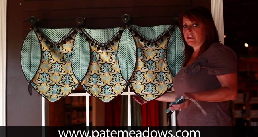Valance Patterns To Sew Ruth Valance Sewing Pattern Home Decor Pinterest Valance