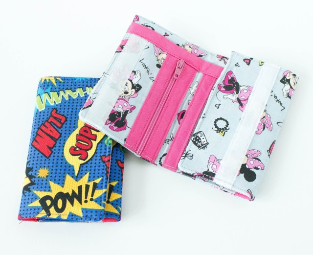 Wallet Sewing Pattern Cute Simple Kids Wallet Pattern To Sew Crazy Little Projects
