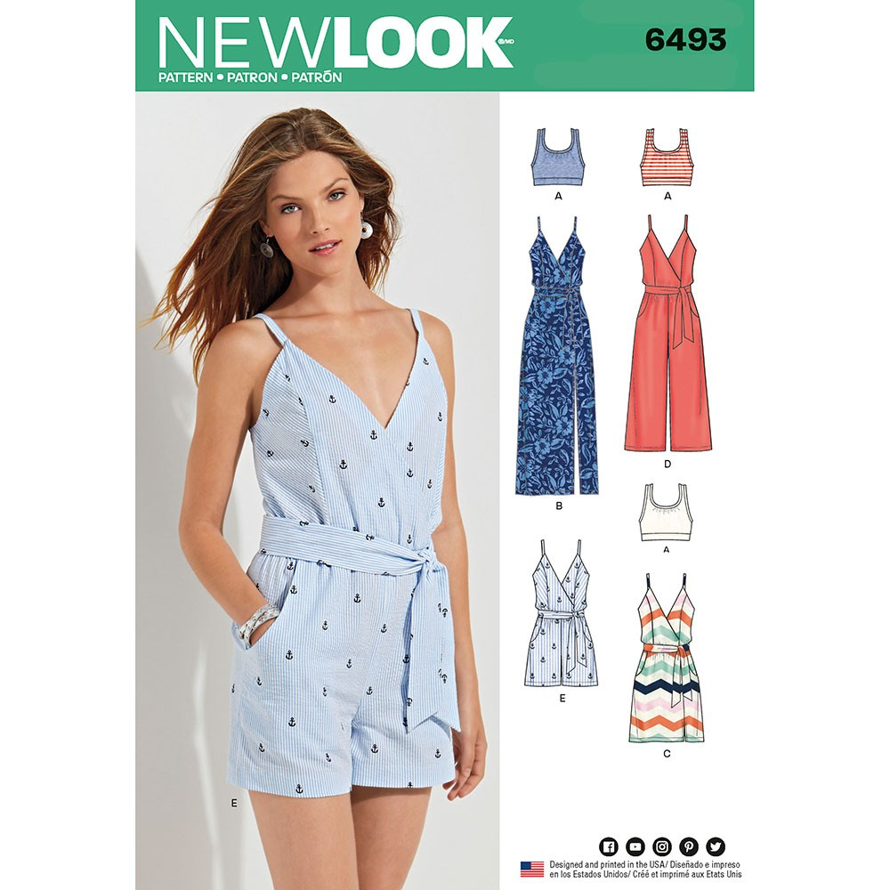 Womens Romper Sewing Pattern Jumpsuits Sewing Patterns Sew Essential
