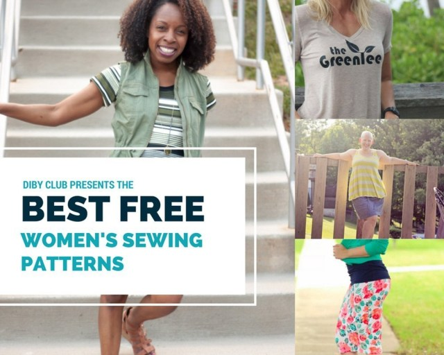 Womens Sewing Patterns The Best Free Womens Pdf Sewing Patterns The Di Club