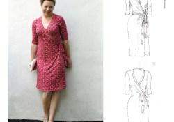 Wrap Dress Sewing Pattern Mariadenmark 405 Rachel Wrap Dress Sewing Pattern