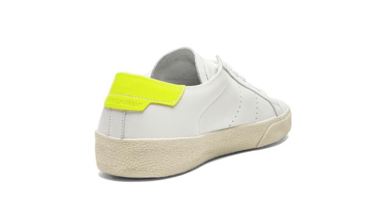 Sneakers in pelle di Saint Laurent Paris Court Classic