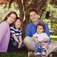 Family session with Debbie and David