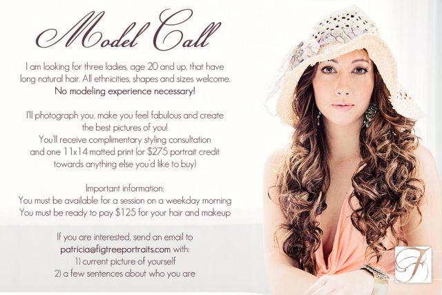 Model-Call-hair